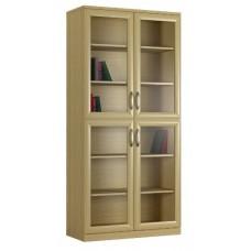 """""""Библиограф №2"""" книжный стеллаж 2-х дверный"""