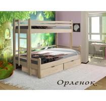 """""""Орлёнок"""" двухъярусная кровать для троих детей"""