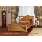"""Кровать """"Амфитрита"""" с художественной ковкой"""
