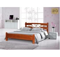 """Кровать """"Биатриса"""" с художественной ковкой"""