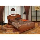 """Кровать """"Эврос"""" с художественной ковкой"""