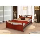 """Кровать """"Золушка"""" с художественной ковкой"""