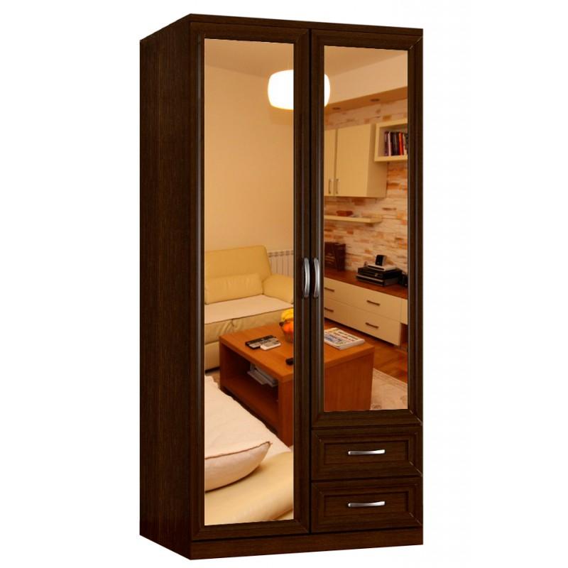Шкаф распашной классика 2.2.2з-ф за 7900 руб., фото.